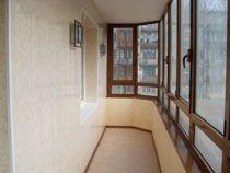Отделка балкона в Киселевске. Отделка лоджии